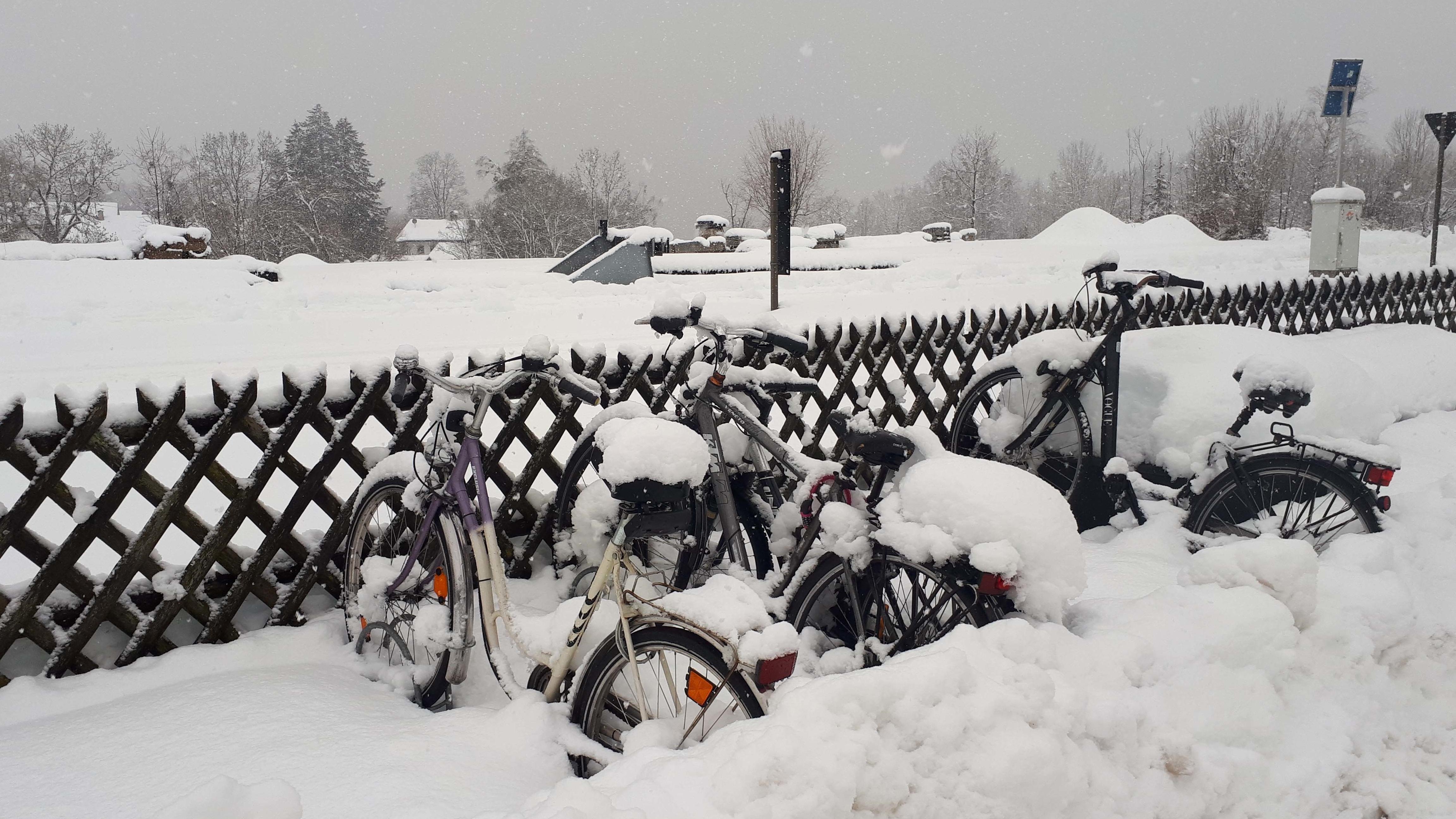 Zu viel Schnee: Hier fällt am Mittwoch in Bayern die Schule aus
