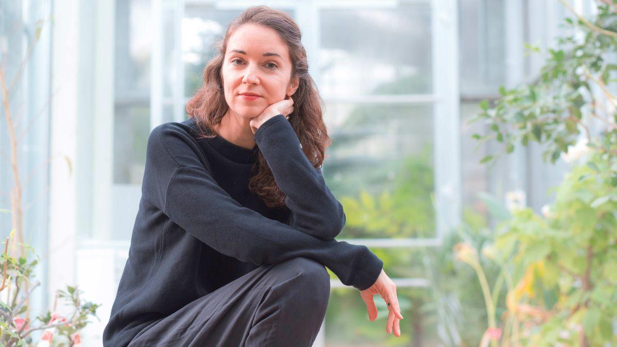 Eine Frau im Portrait