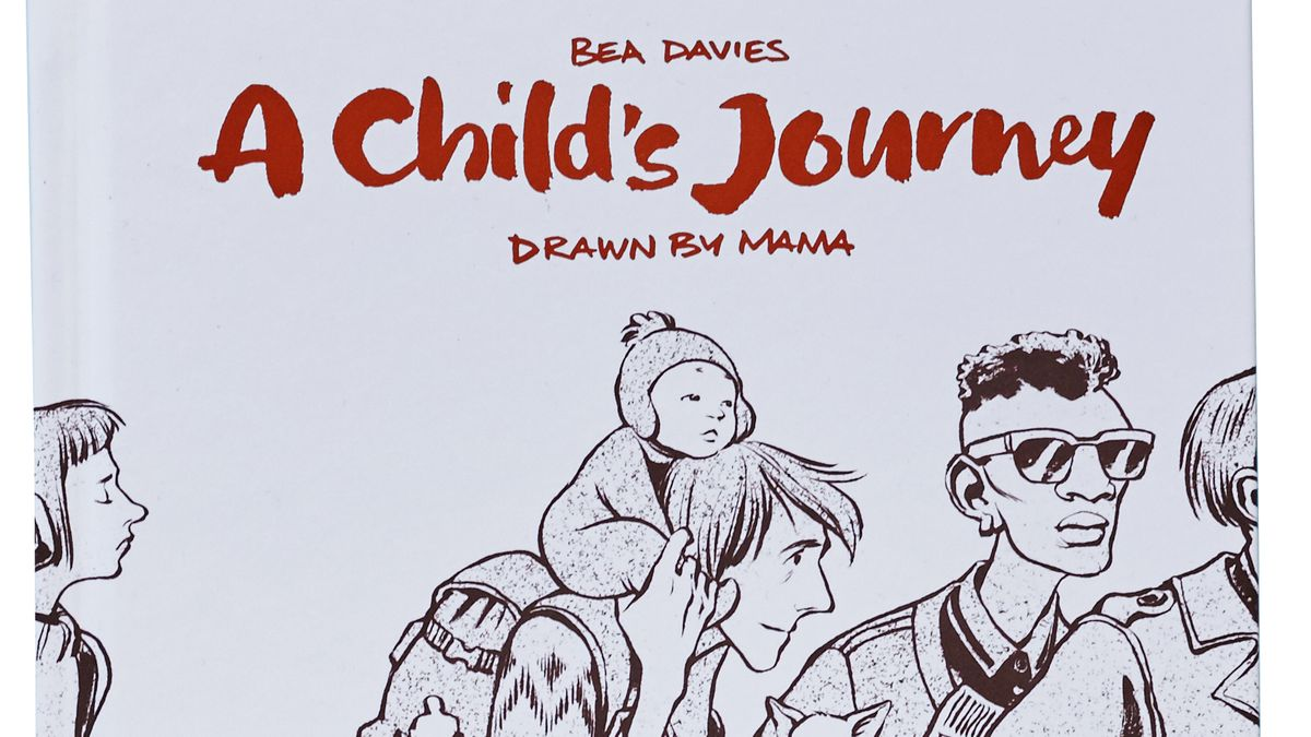 Cover des Comics mit Kind das Huckepack auf den Schultern eines jungen Mannes sitzt.