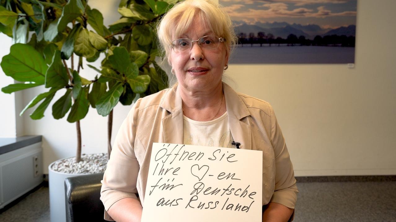 Maria Schefner, Deutsche aus Russland