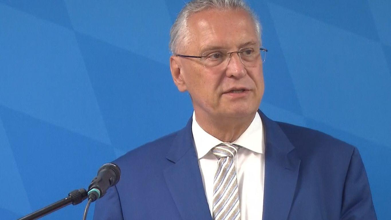 Joachim Herrmann, bayerischer Innenminister (CSU)