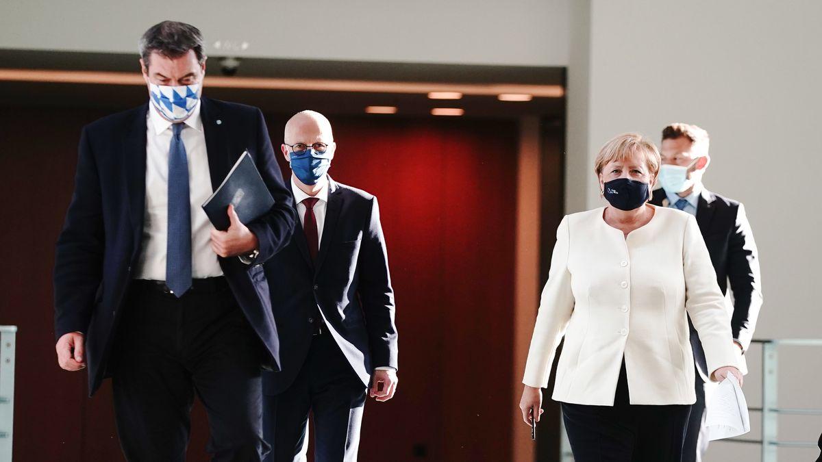 Kanzlerin Merkel trifft sich heute erneut mit den Ministerpräsidenten