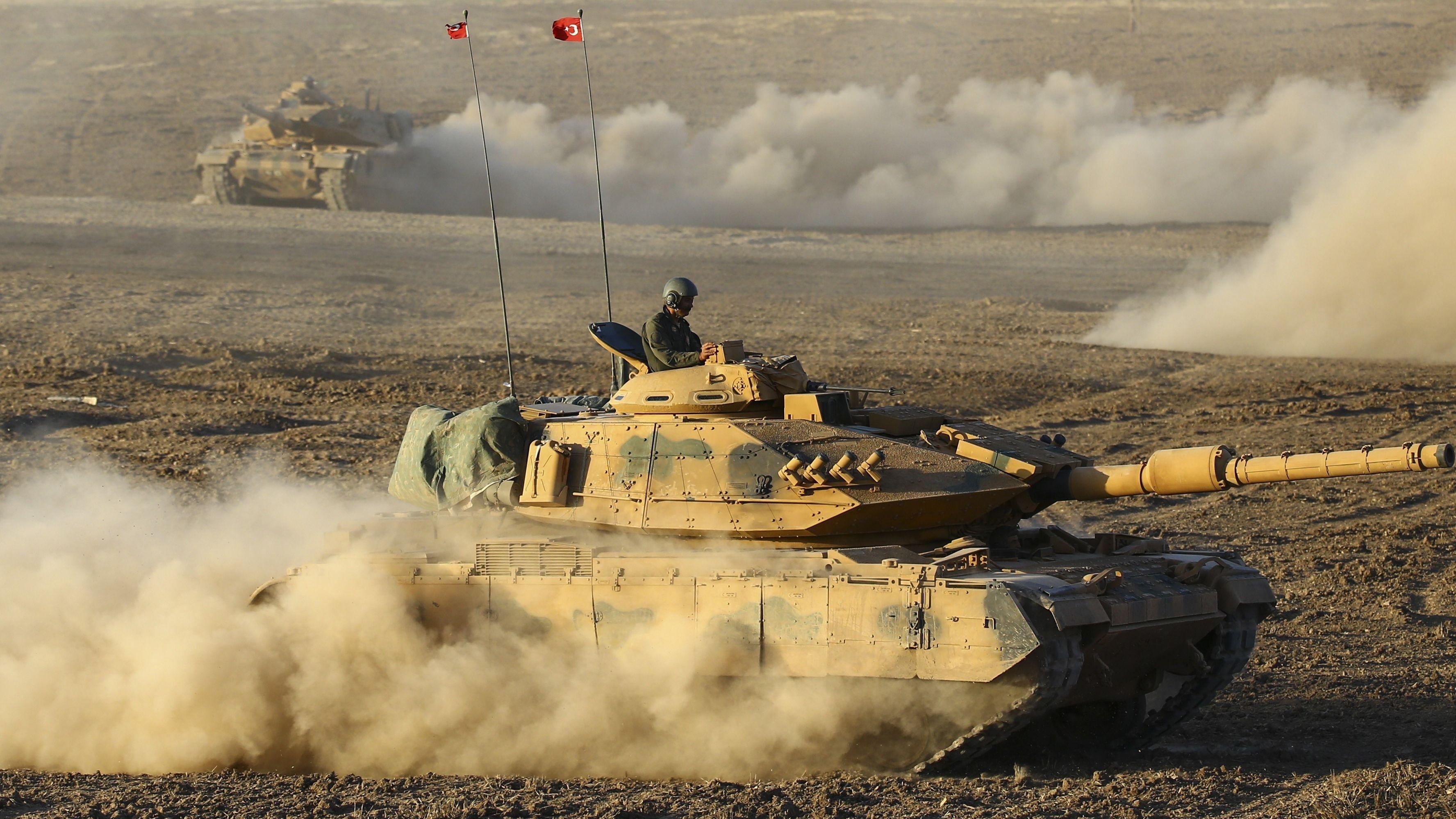 Türkische Panzer (Archivbild)