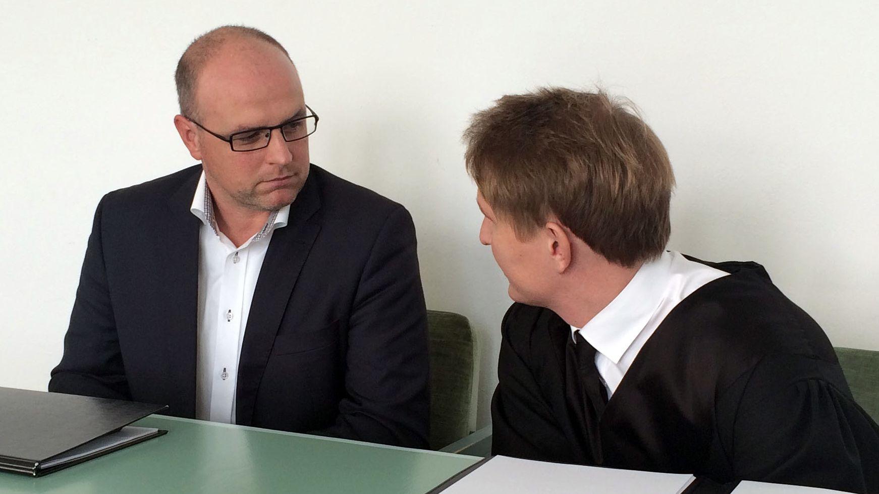 Der Immenreuther Bürgermeister Heinz Lorenz im Januar am Amtsgericht Tirschenreuth