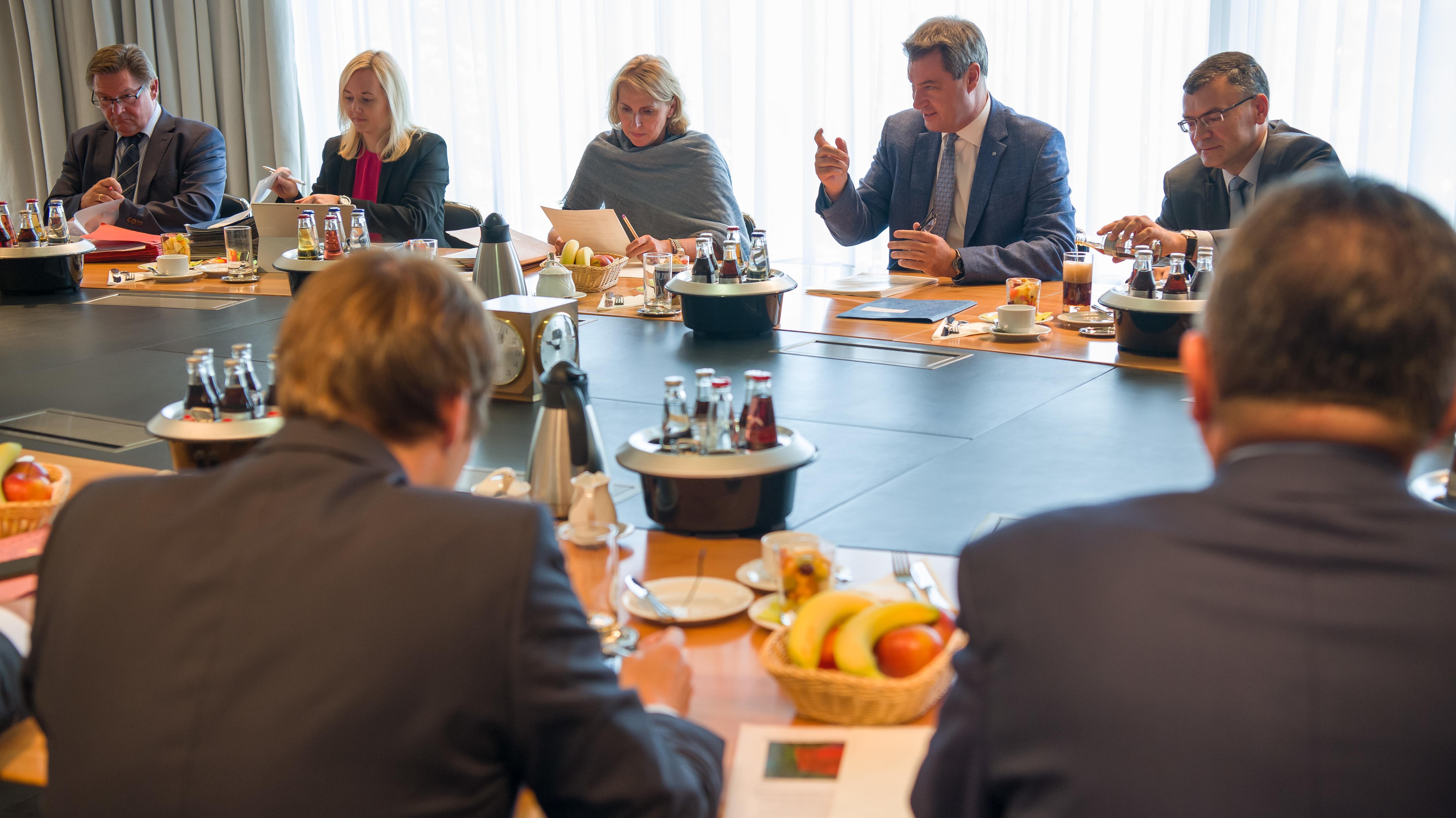 Bayerisches Kabinett, Ministerrat