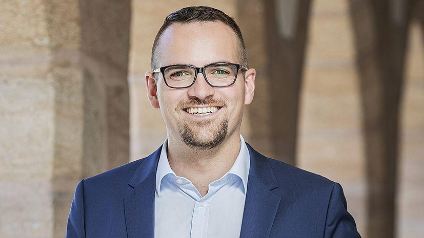Der neue Schwabacher Oberbürgermeister Peter Reiß