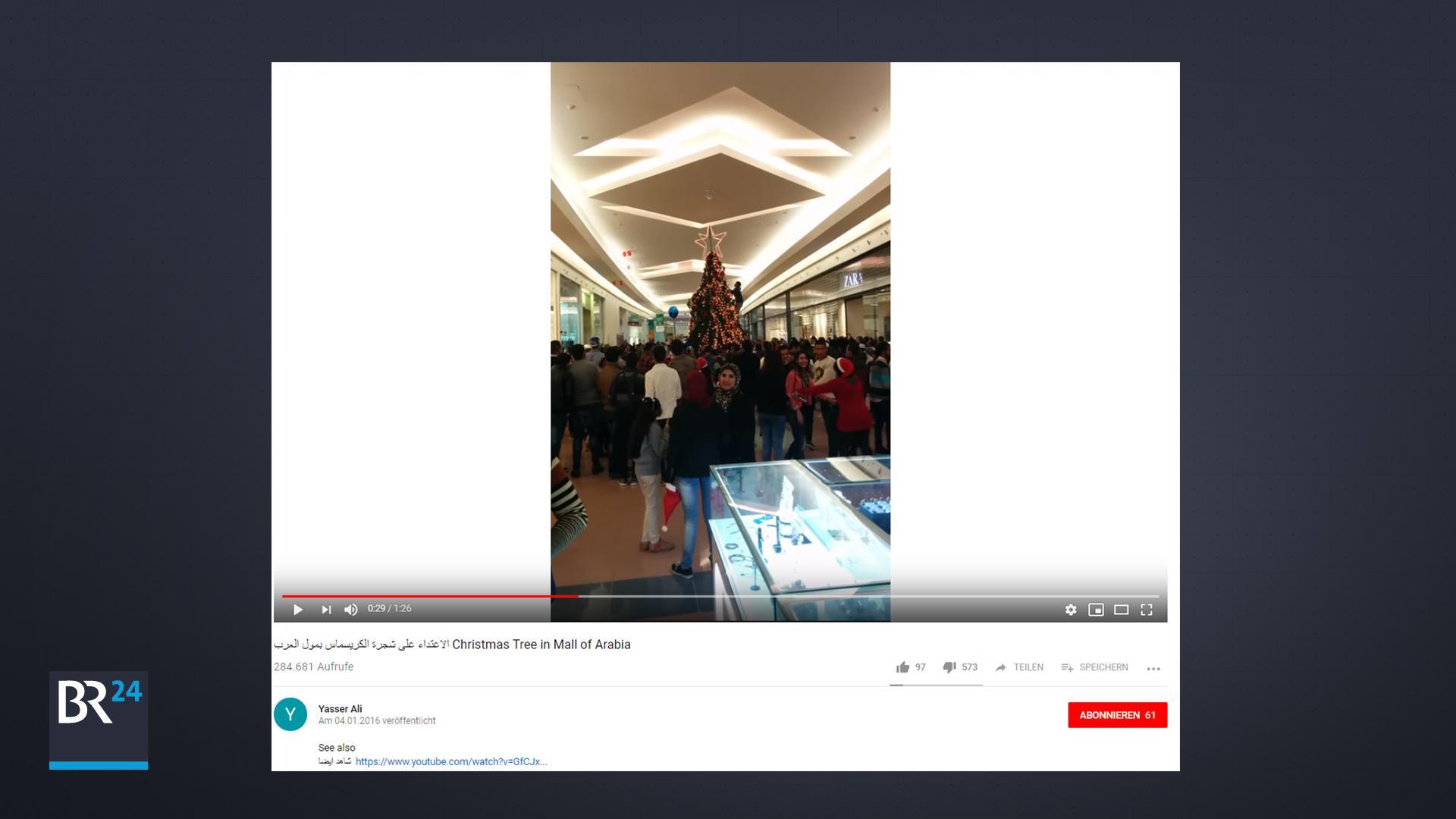 Die vermutlich erste im Internet veröffentlichte Version des Videos ist datiert auf den 4. Januar 2016.