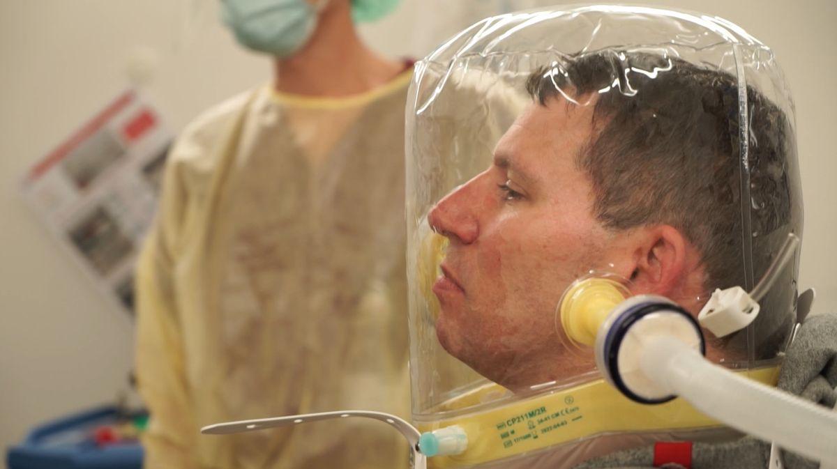 Schulung zum Umgang mit Corona-Patienten im Klinikum Bogenhausen