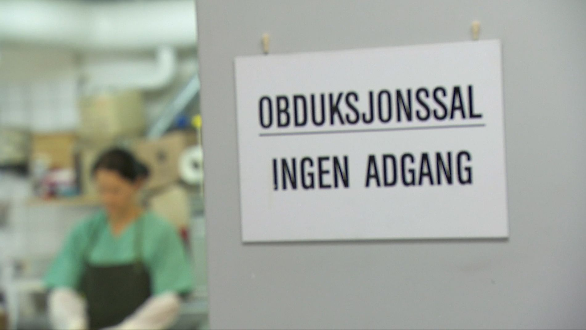Obduktionssaal in Norwegen