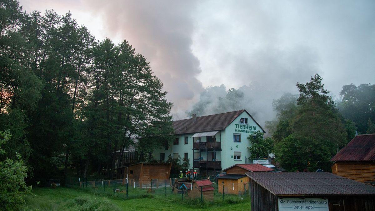 Am Abend des 9. Juni brach im Tierheim Wannigsmühle ein Brand aus.