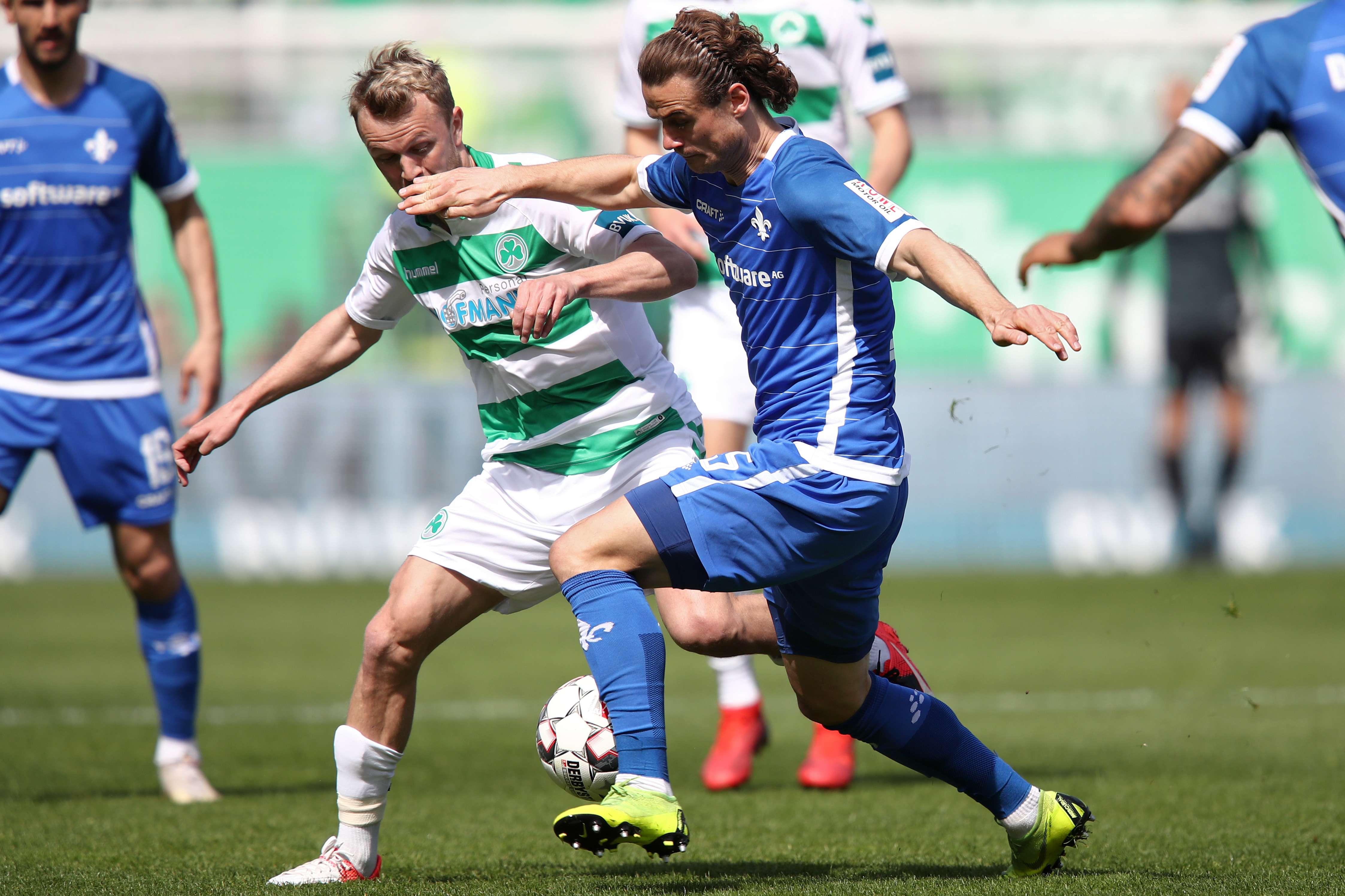 Spielszene SpVgg Gr. Fürth - SV Darmstadt 98