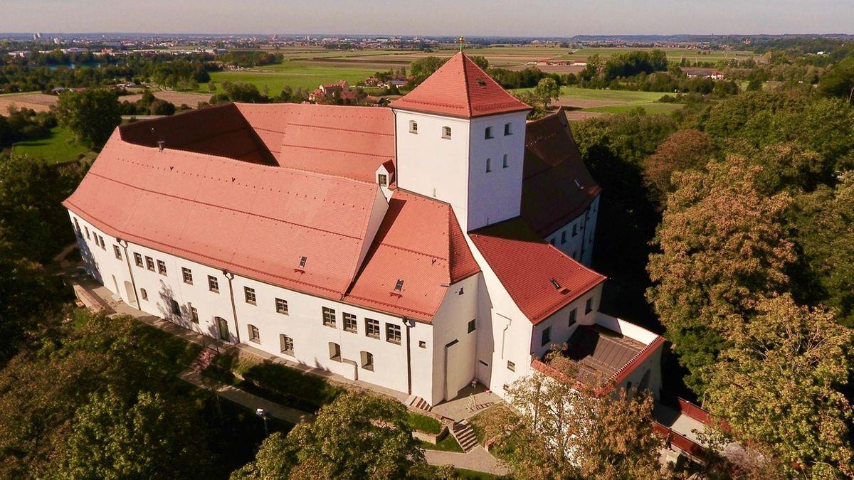 Das Wittelsbacher Schloss in Friedberg ist einer der Ausstellungsorte der Bayerischen Landesausstellung.