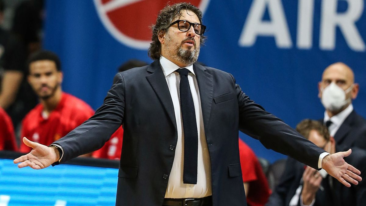 Andrea Trinchieri, Trainer FC Bayern Basketball