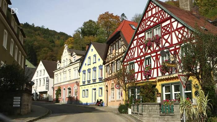 Mädel Bad Berneck im Fichtelgebirge