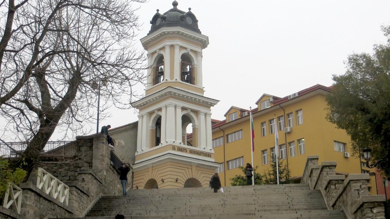Bulgarien, Plowdiw: Altstadt.