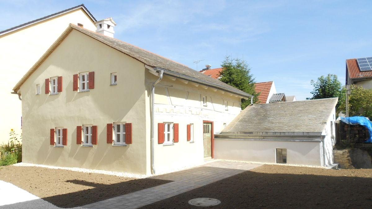 Ein Jurahaus im Landkreis Eichstätt.
