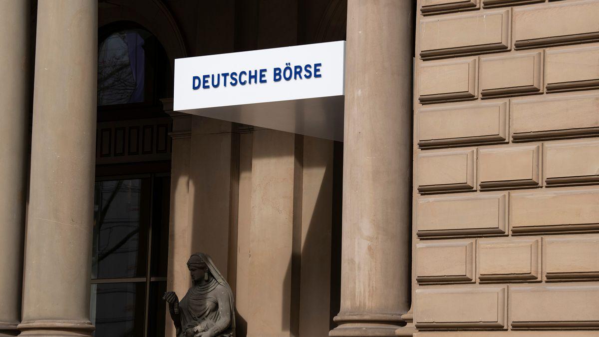 Die Deutsche Börse.