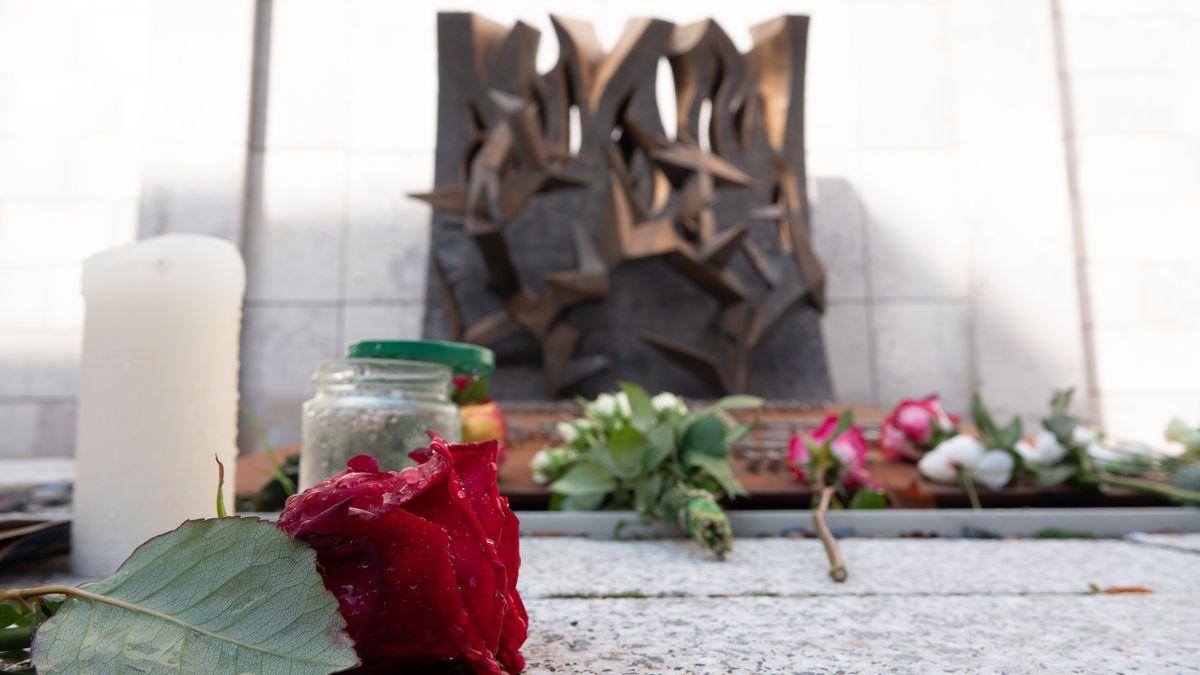Am Tag nach dem Anschlag in Halle standen die Zeichen in vielen Synagogen auf Trauer.