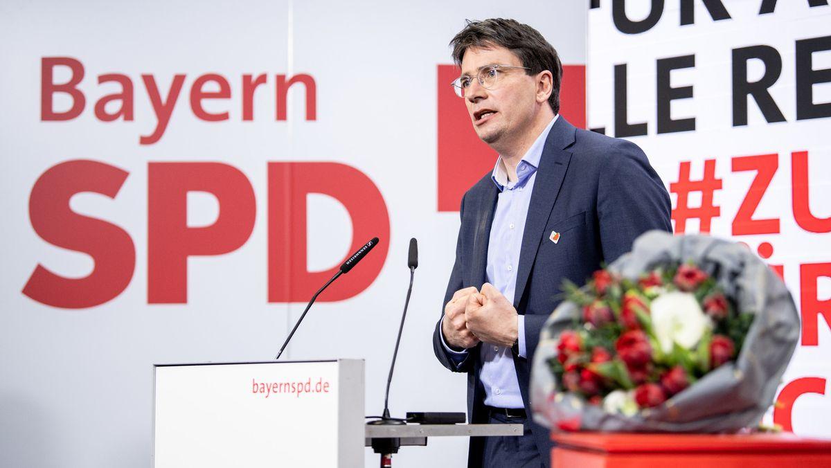 Florian von Brunn, neu gewählter Landesvorsitzender der Bayern-SPD