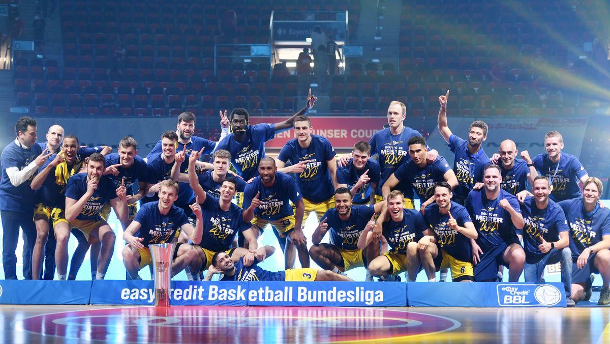 Alba Berlin ist Basketball-Meister 2021