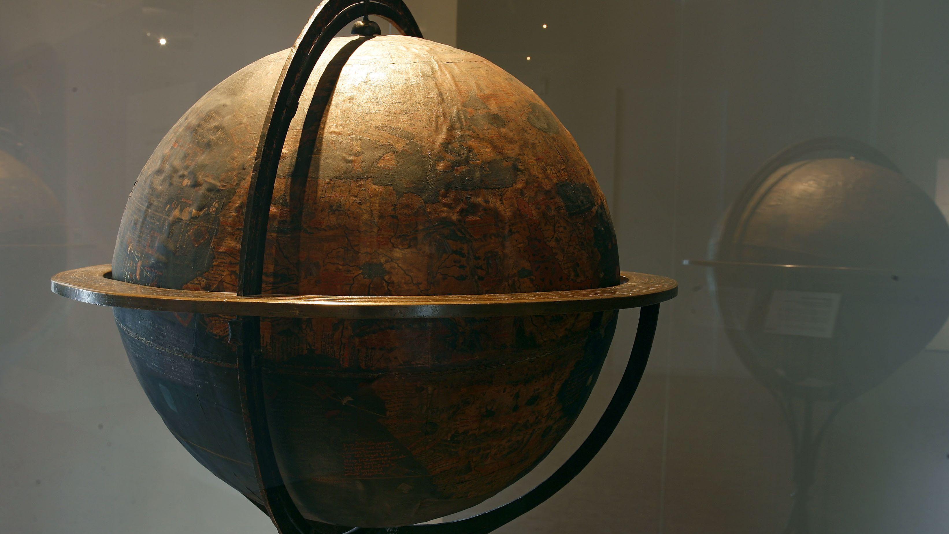 """""""Behaim-Globus"""" von Martin Behaim im Germanischen Nationalmuseum Nürnberg"""