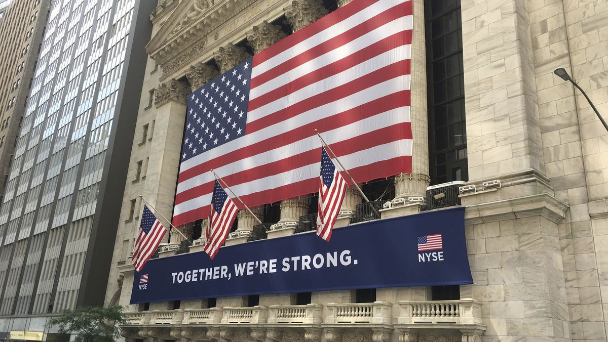 Wall Street in New York (Symbolbild).