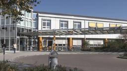 Der Eingangsbereich der Donau-Ries Klinik in Donauwörth | Bild:BR/Tobias Chmura
