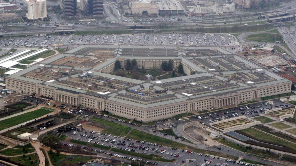 Luftaufnahme des Pentagon