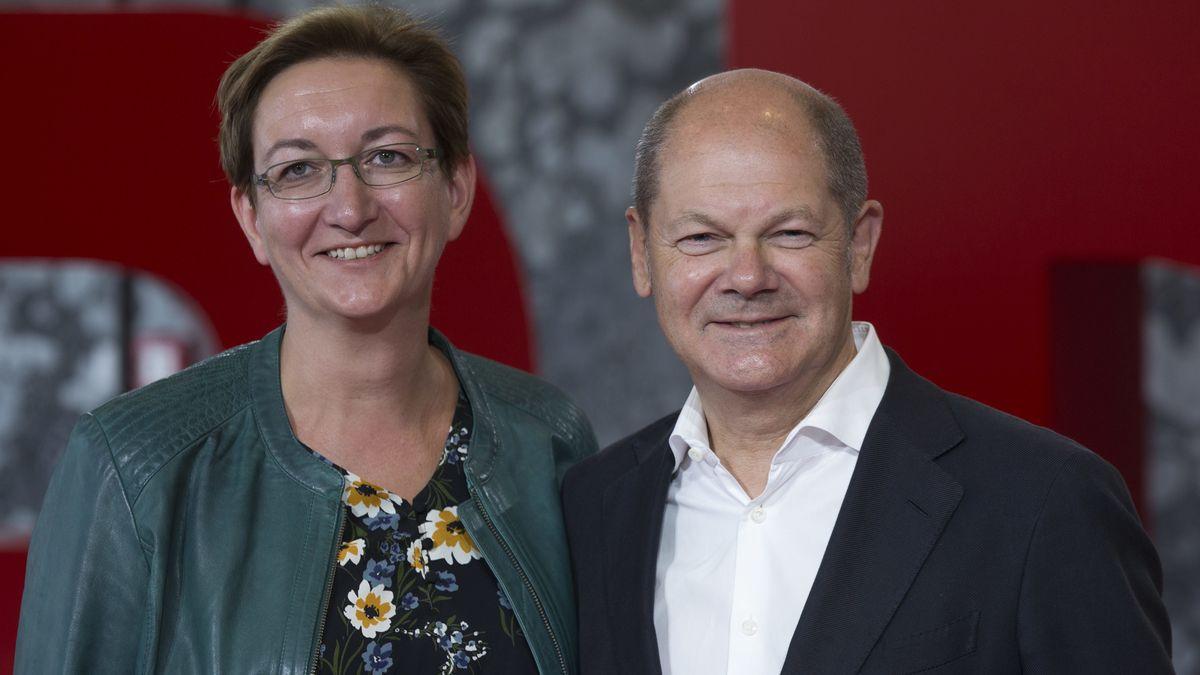Klara Geywitz und Olaf Scholz.