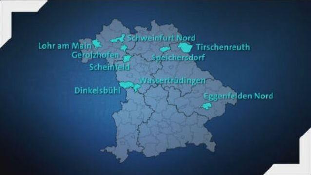 Bayerische Regionen mit Landarztmangel