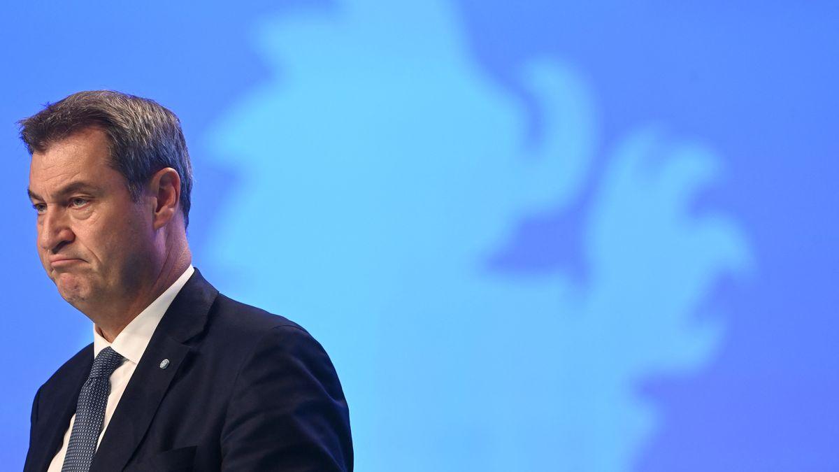 Markus Söder beim CSU-Parteitag in Nürnberg