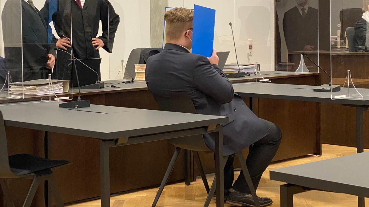Angeklager im Terror-Prozess an der Staatsschutzkammer, Landgericht Nürnberg-Fürth