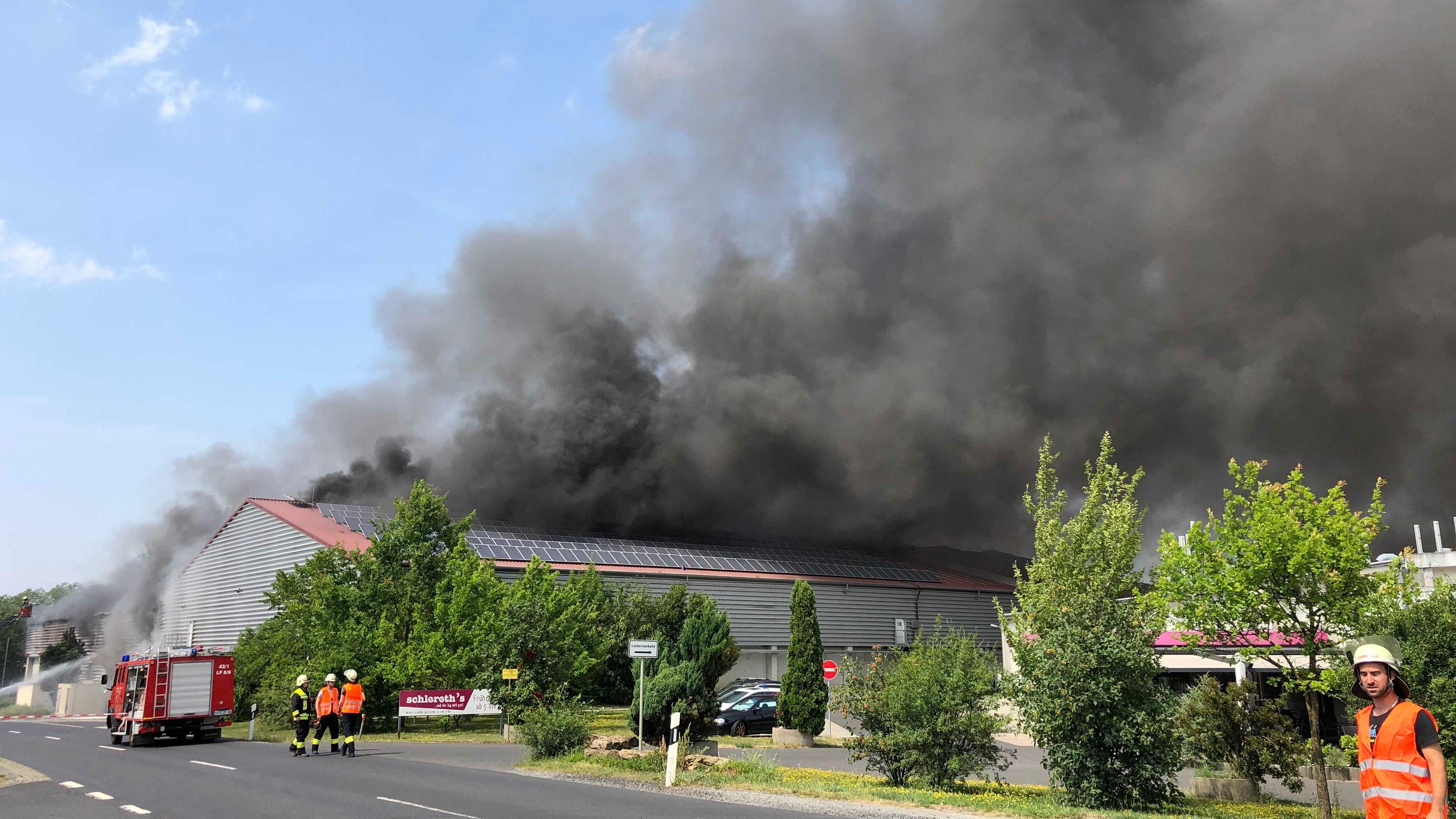 Feuer in Knetzgau