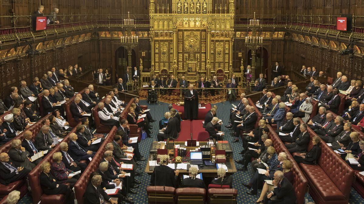 Sitzung des Oberhauses (Archiv)