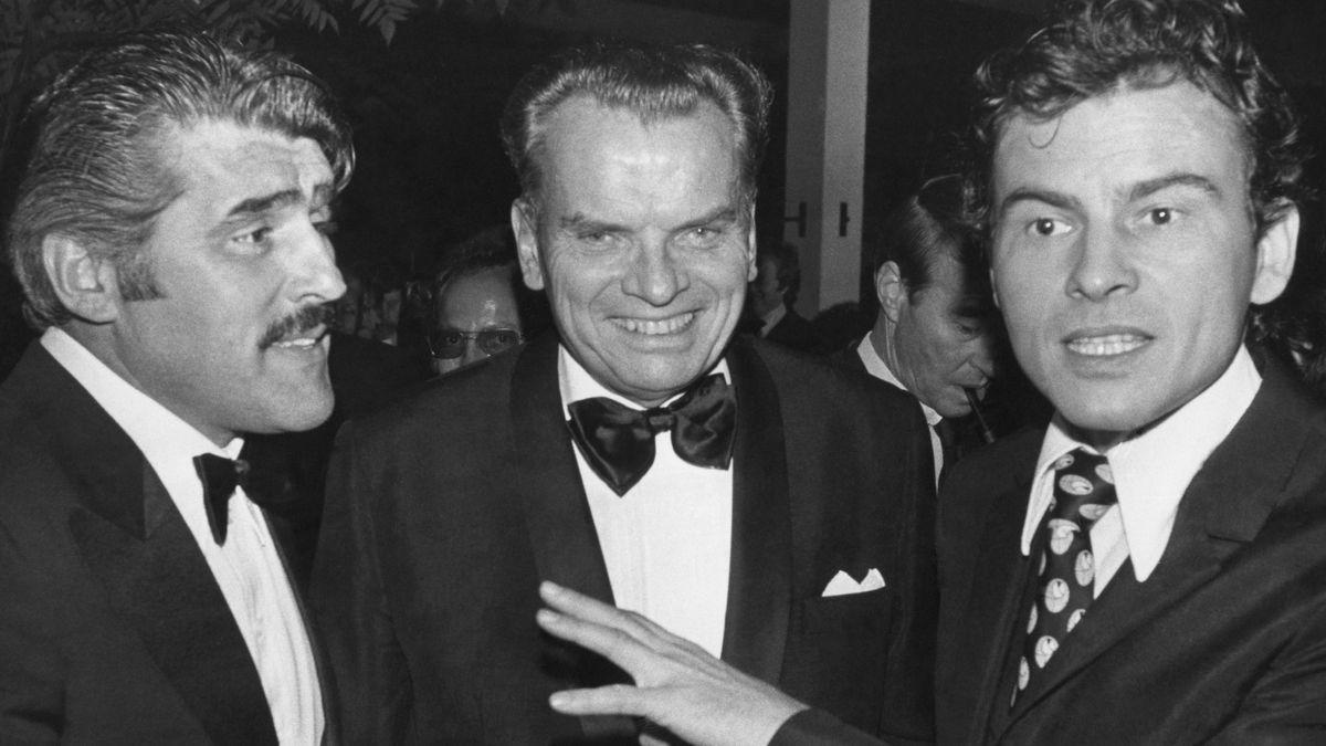 Die Prominenten in Cannes beim Festival 1975