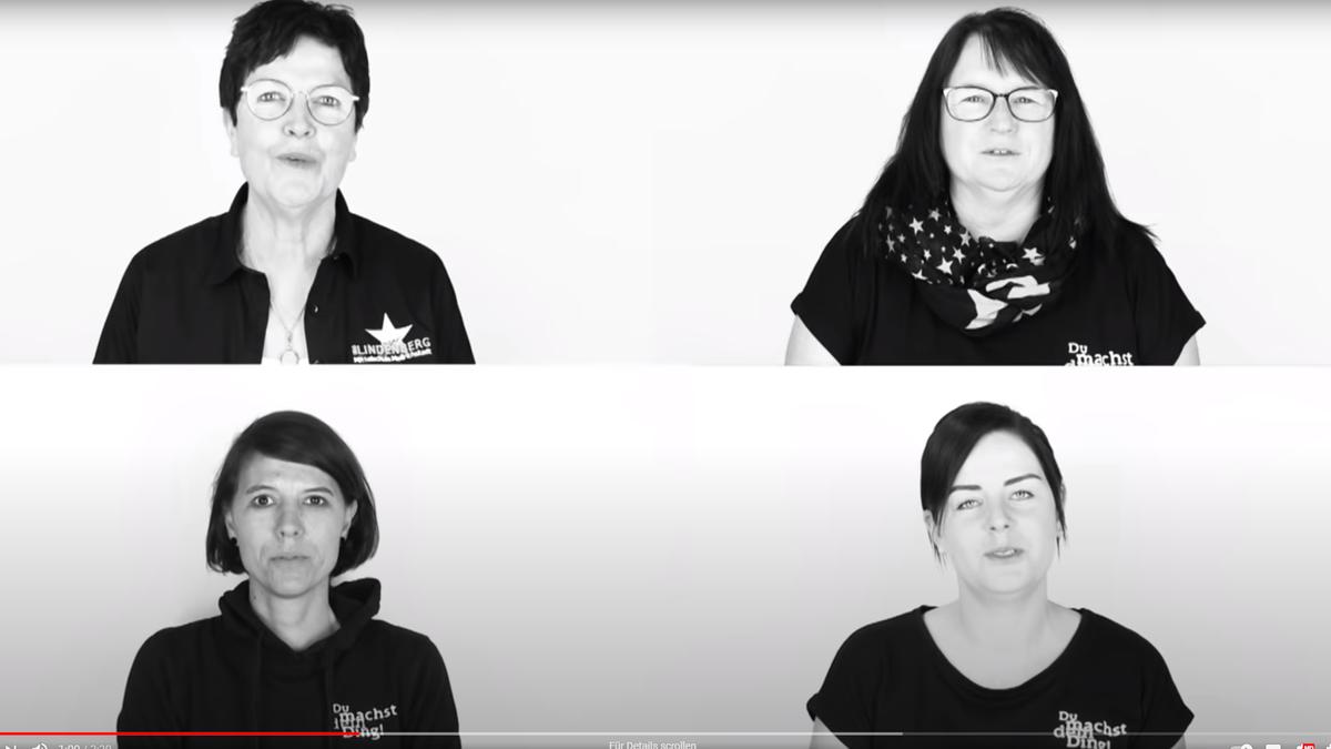 Imagine-Video der Udo-Lindenberg-Schule in Mellrichstadt