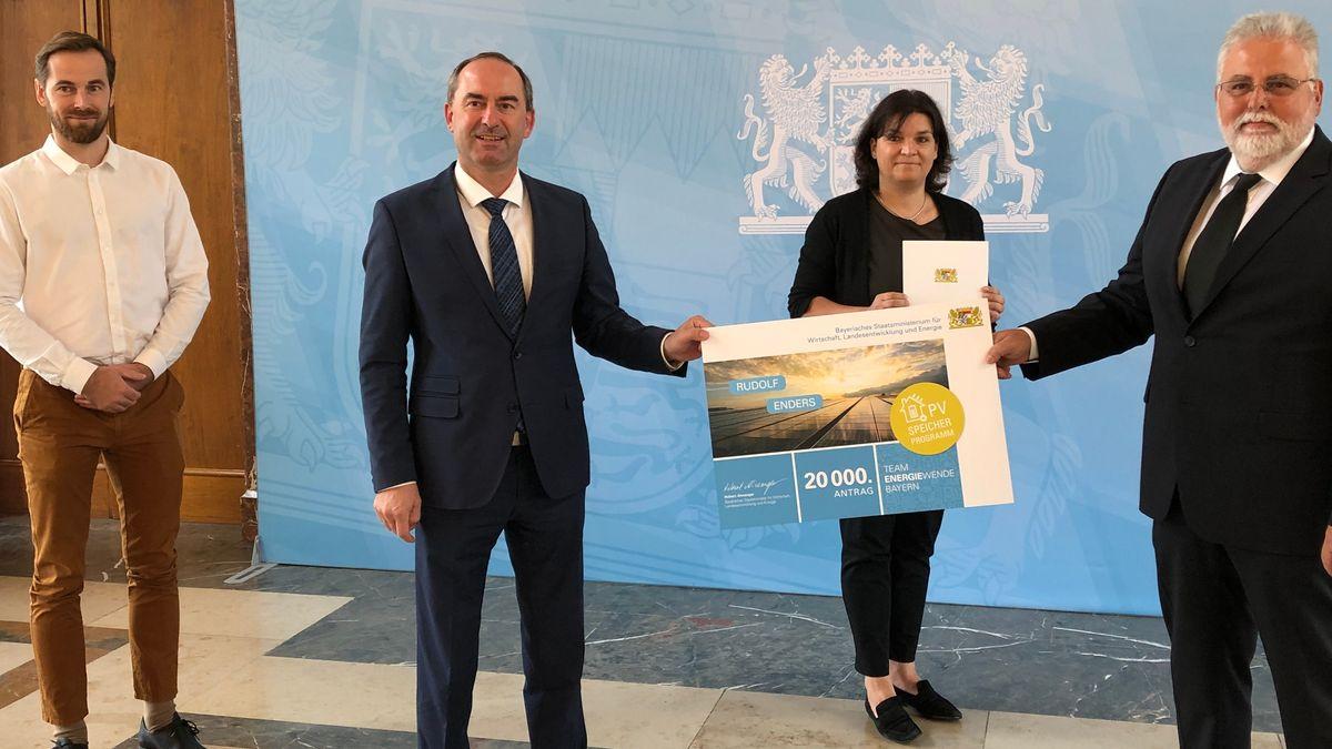 Solarspeicher für Privathaushalte werden in Bayern seit 13 Monaten gefördert