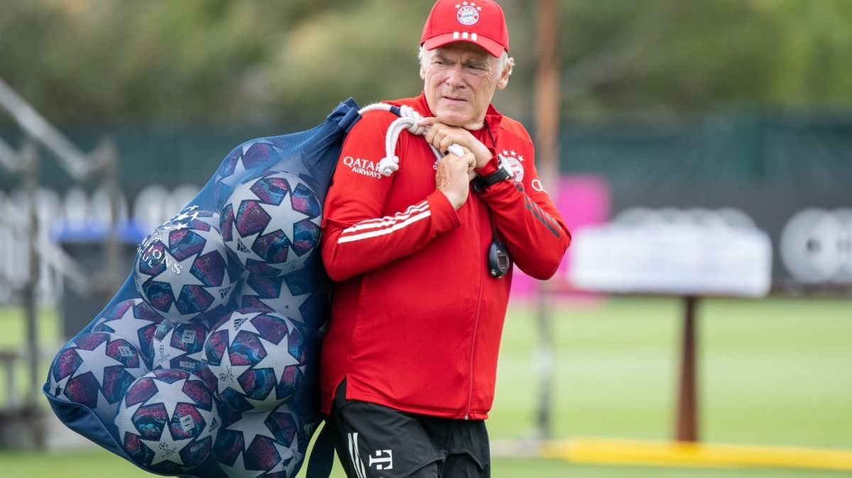 Co-Trainer Hermann Gerland vom FC Bayern