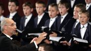 Ein Knabenchor. | Bild:picture alliance / AP Photo