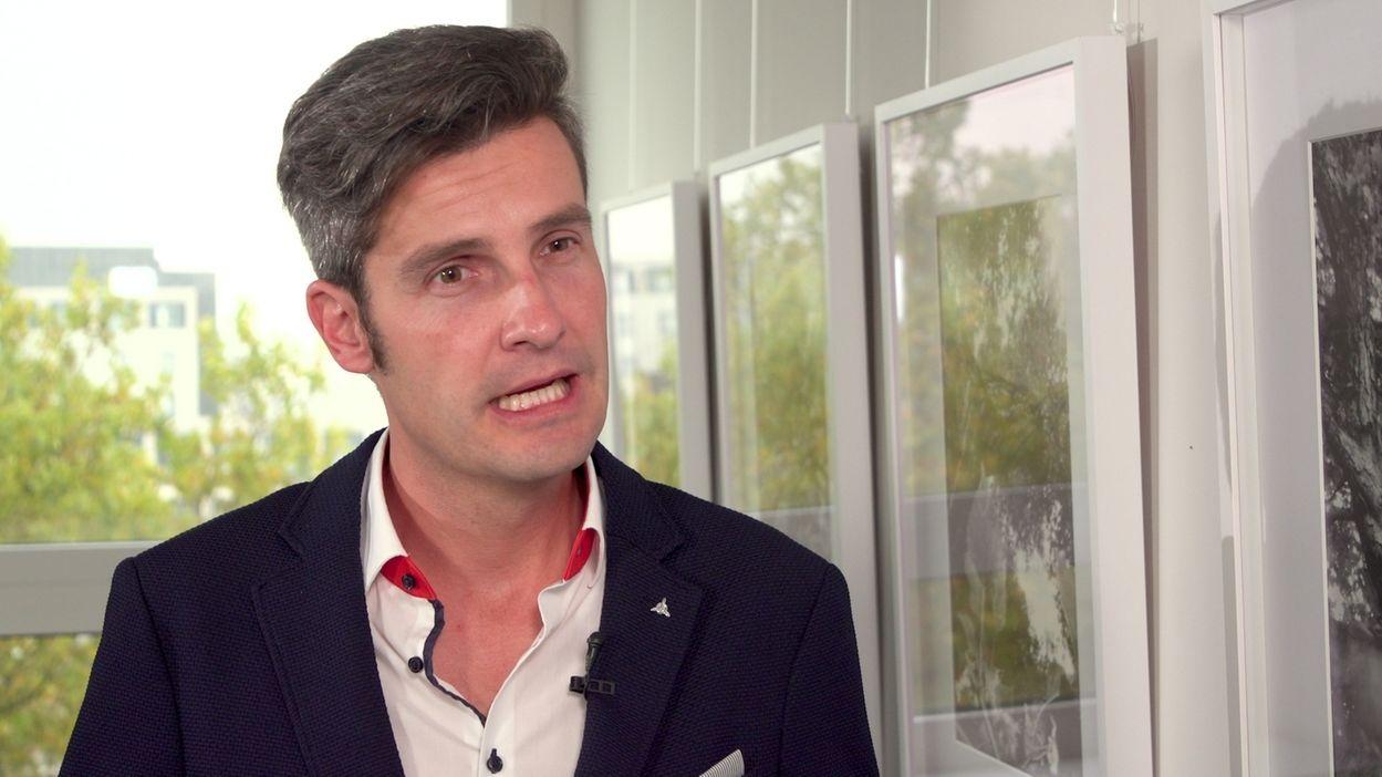 Augsburger Ordnungsreferent Dirk Wurm im BR-Interviewetungsverbot für Partymeile