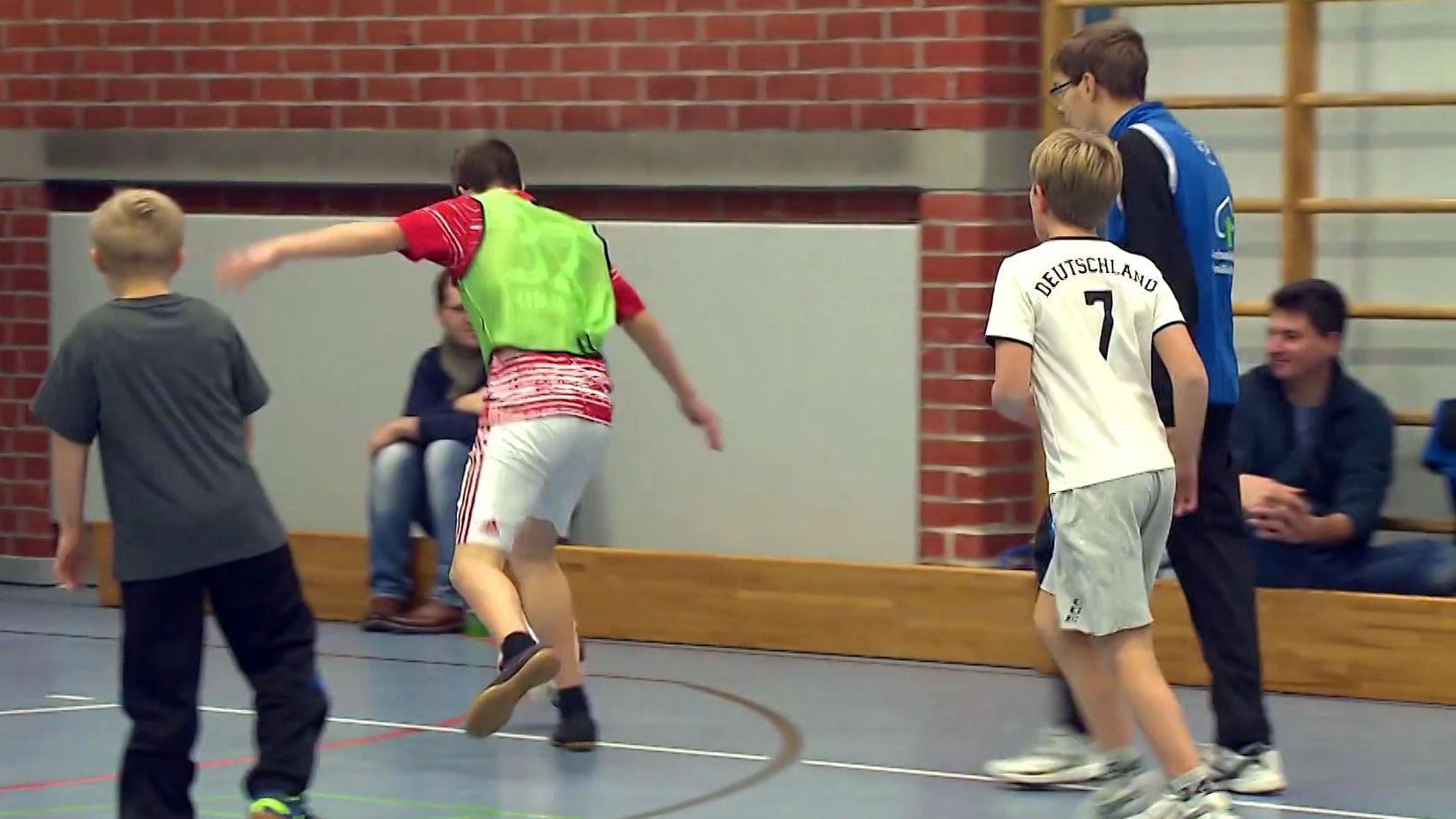 Inklusions-Fußballtraining beim 1. SC Gröbenzell