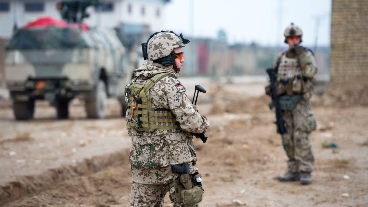 Bundeswehrsoldaten in Masar-i-Scharif