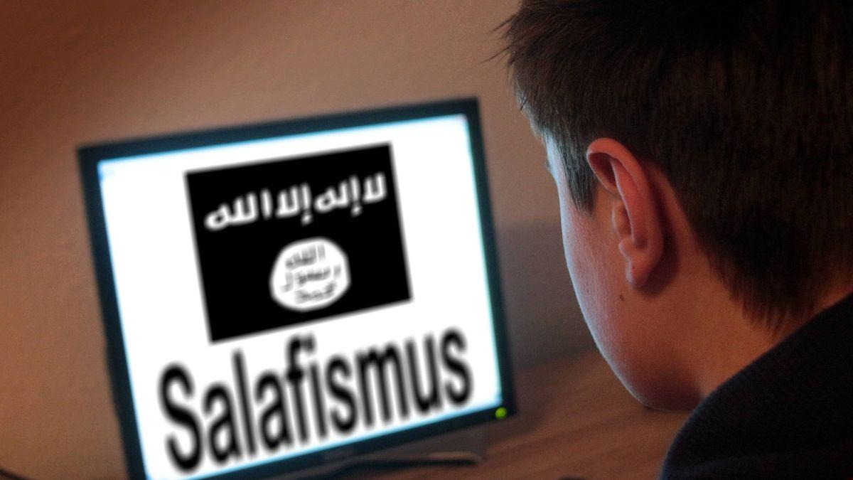 Symbolbild zu den Anwerbeversuchen der radikal-islamistischen IS bei minderjährigen Jugendlichen