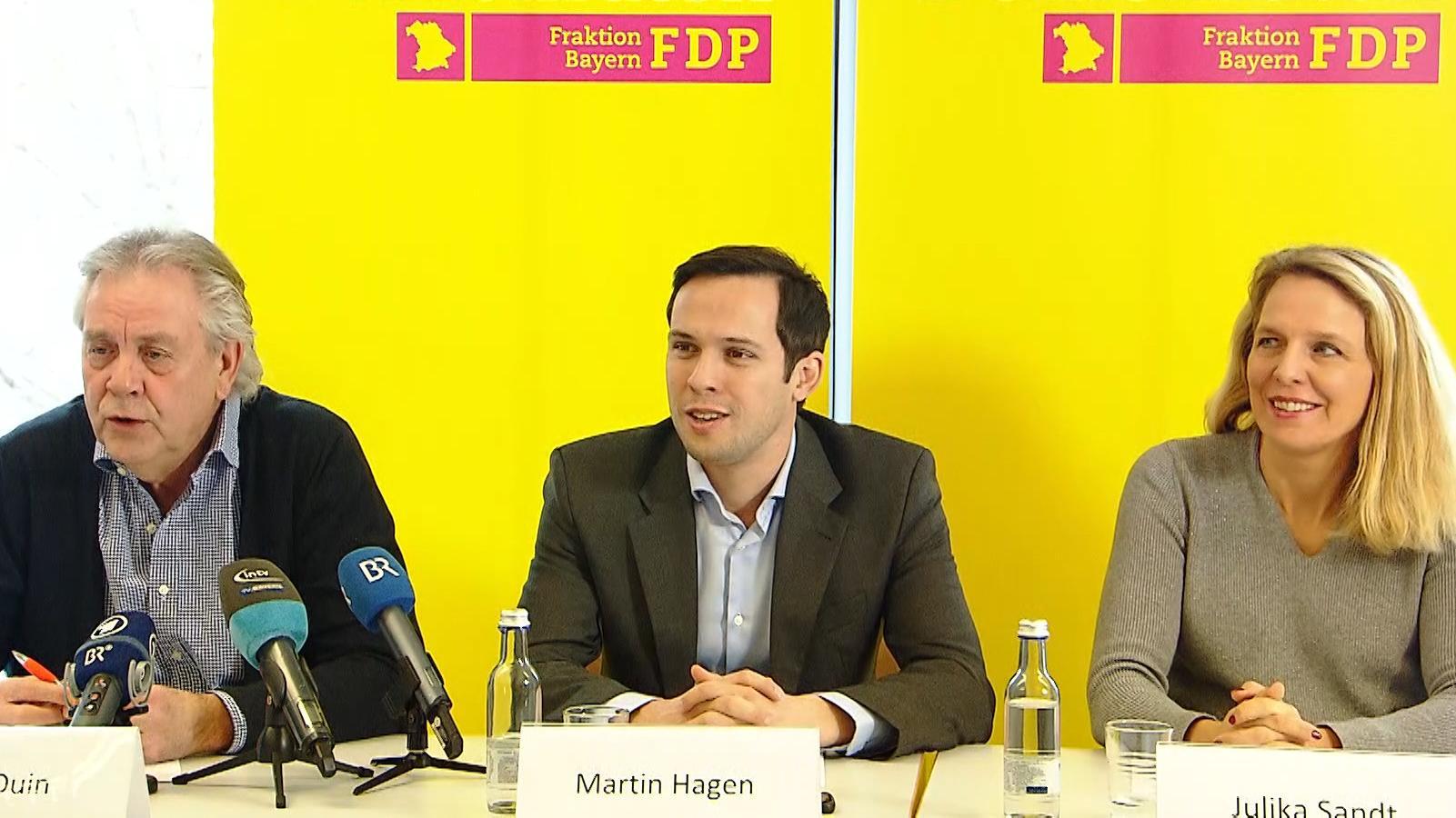 Spitzenpolitiker der bayerischen FDP