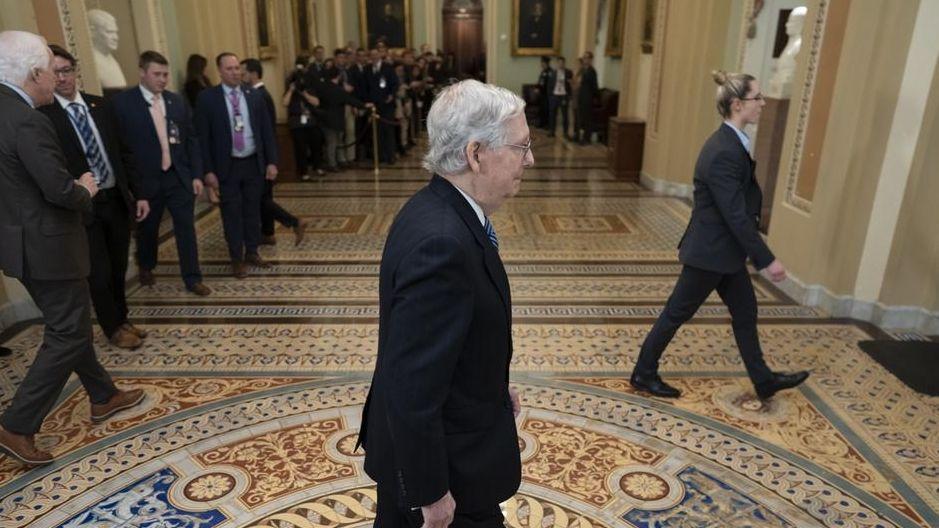 Der Mehrheitsführer im US-Senat, der Republikaner McConnell