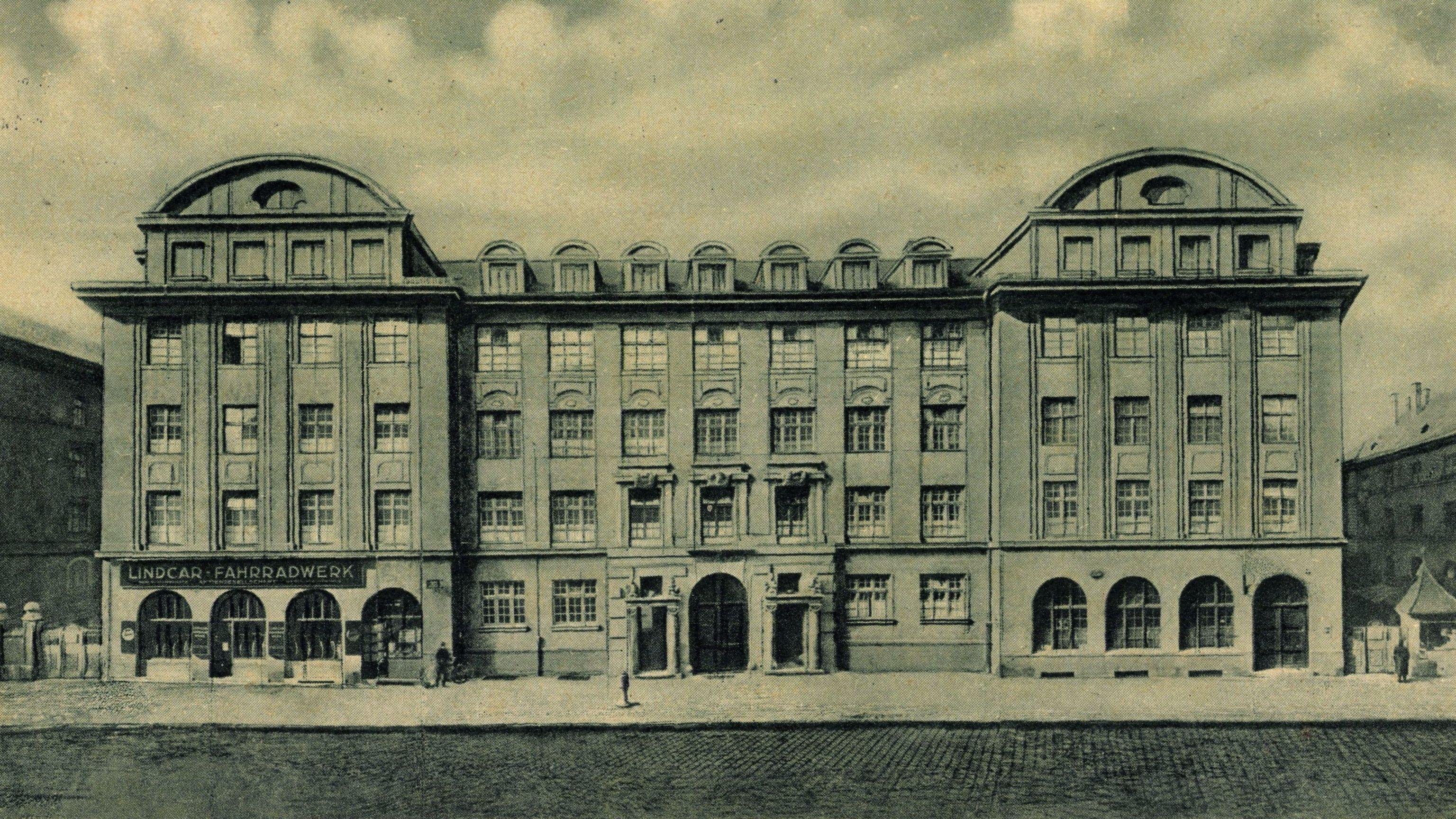 Das Gewerkschaftshaus in der Pestalozzistraße in München. Hier verschanzten sich 1933 Gewerkschafter - und wurden von der SA abgeführt.
