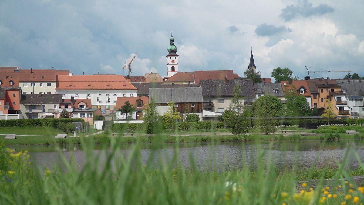 Blick auf Tirschenreuth