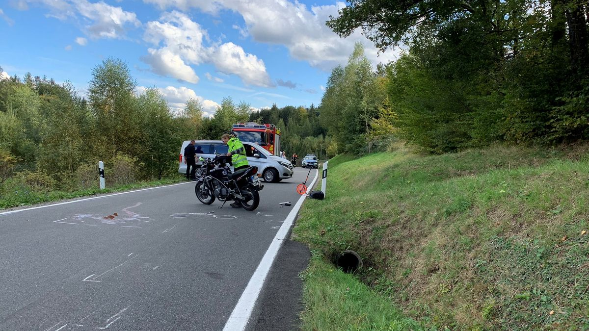 Motorradfahrer stirbt bei Verkehrsunfall in Frammersbach