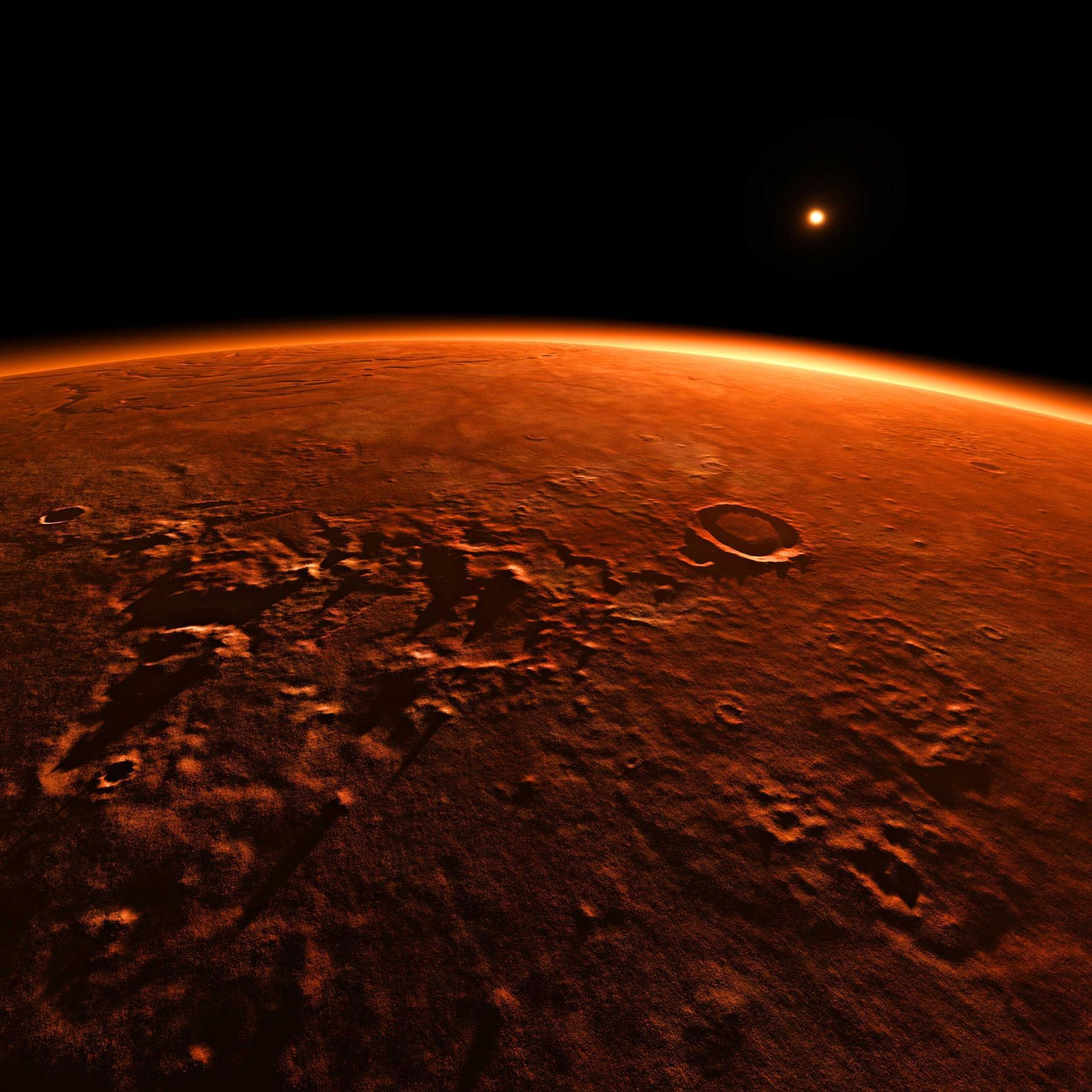 Faszination Mars - Was wollen plötzlich alle auf dem roten Planeten?
