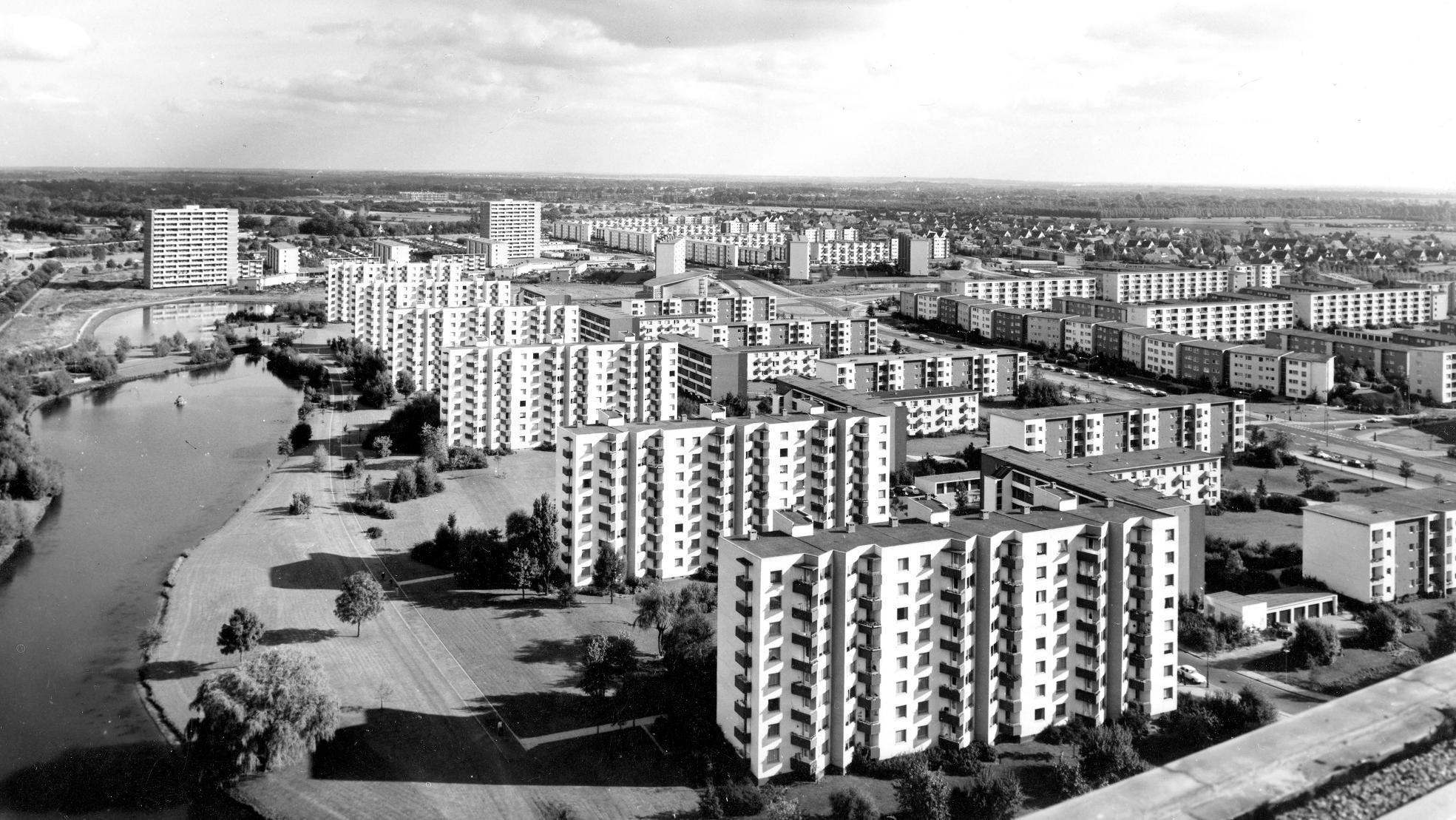 Neue Vahr Bremen - Betonburgen am Stadtrand von Bremen